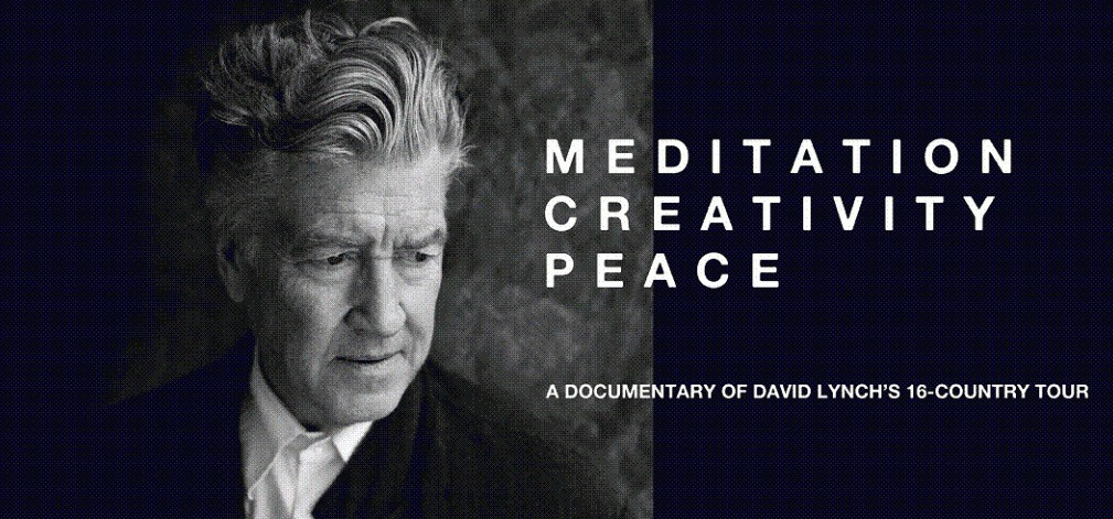 MEDITATION CREATIVITE PAIX : un documentaire sur David Lynch - mercredi 22 novembre 2017 à 19h30